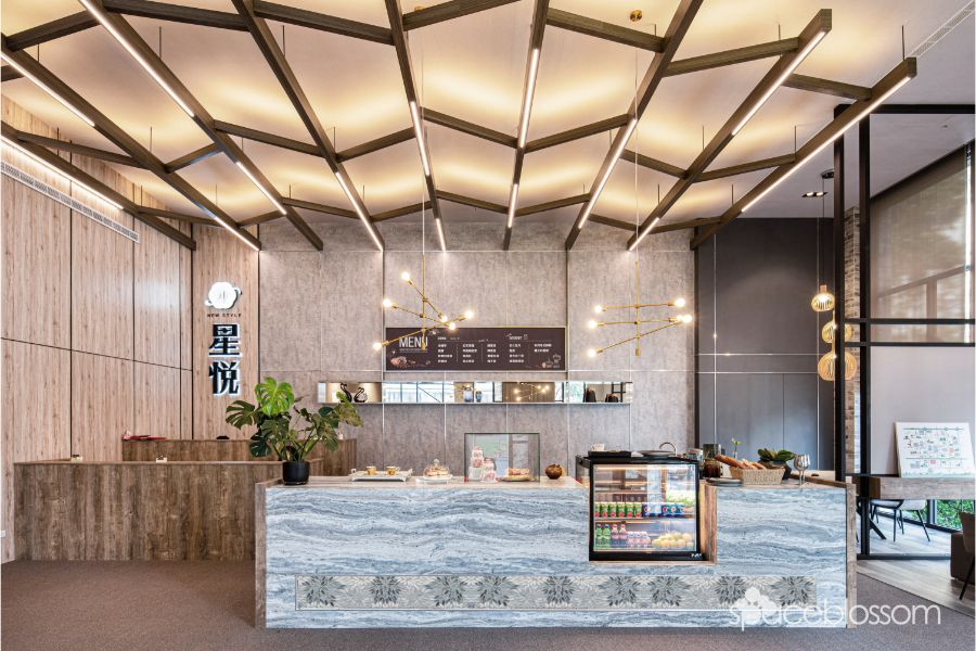 Canopy Café among trees 樹蔭咖啡館